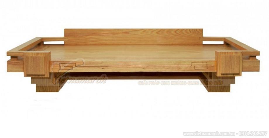 Mẫu bàn thờ gỗ sồi Nga - 02