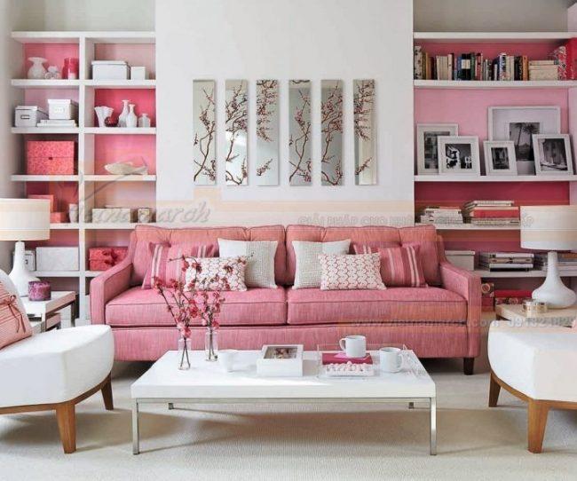 Lựa chọn bàn ghế sofa cho từng kiểu phòng khách nhỏ