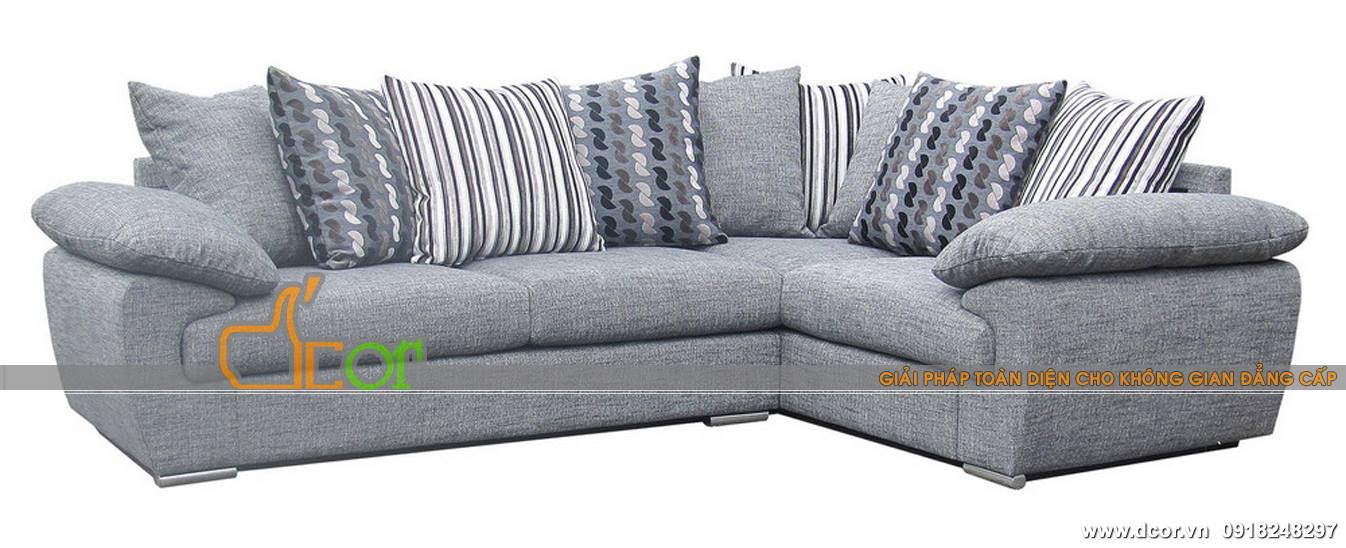 Sofa nhập khẩu Malaysia với thiết kế thanh thoát, màu sắc trang nhã