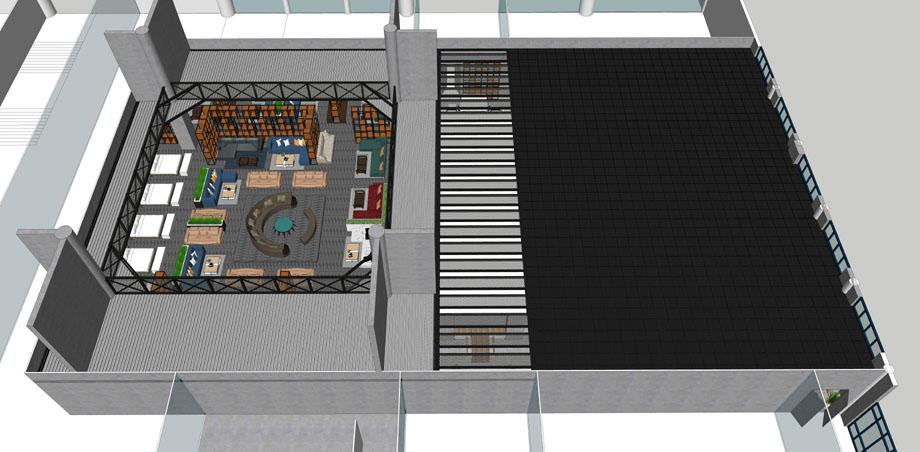 Bản vẽ thiết kế showroom nội thất D'cor 489 Hoàng Quốc Việt