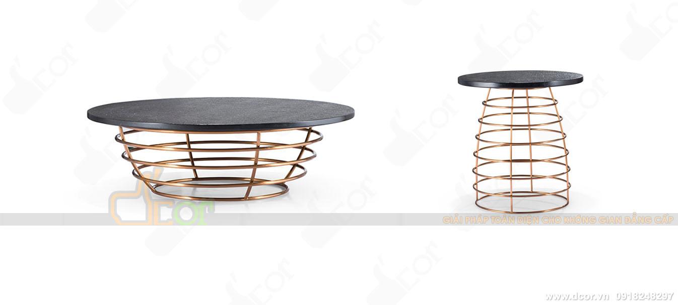 Mẫu bàn trà cao cấp, độc đáo cho phòng khách ấn tượng: BT600