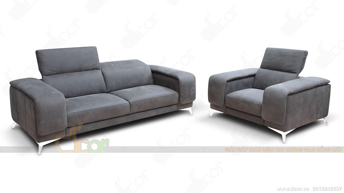 Mẫu sofa da tinh tế cho phòng khách hiện đại- DG1052 Anna Italia