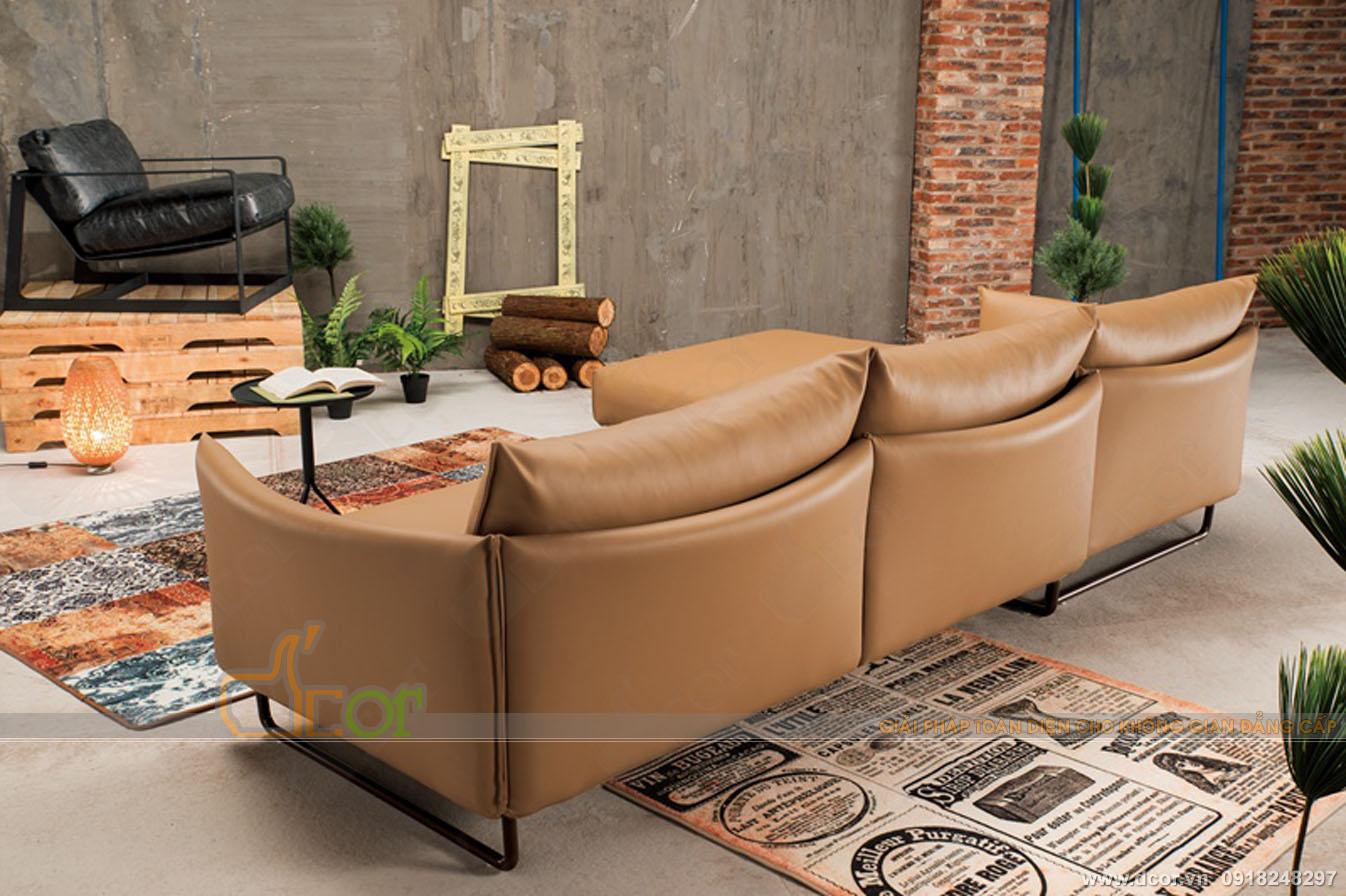 Sofa phòng khách đẹp được tìm kiếm nhiều nhất năm 2018: DG602