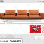 Ngỡ ngàng với siêu phẩm sofa nỉ- da đẹp hiện đại cho mọi không gian phòng khách: DG621