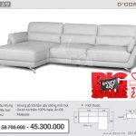Mềm mại, êm ái bậc nhất là sofa nhập khẩu Malaysia SG829