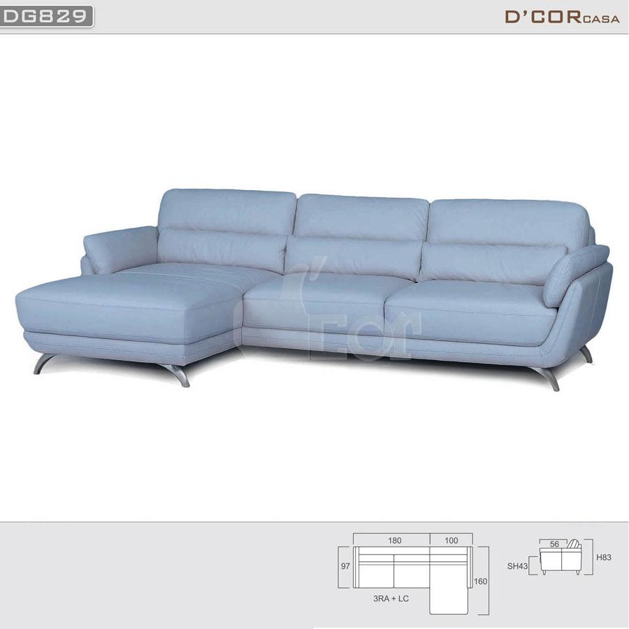 Mẫu sofa góc hiện đại nhập khẩu Hàn Quốc