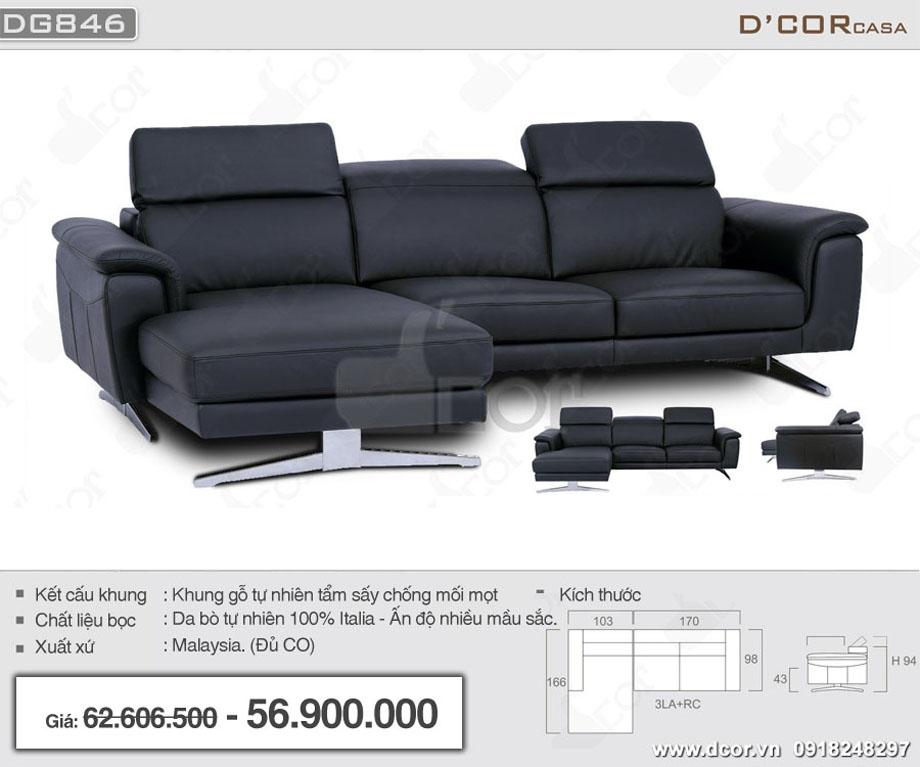 Chất liệu của bộ sofa nhập khẩu NG846 Malaysia