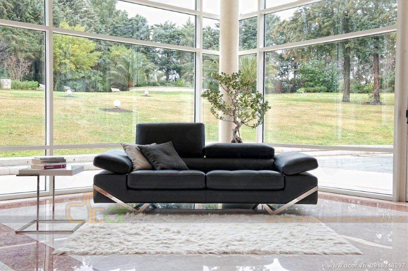 Hiện đại sang chảnh bậc nhất là sofa da nhập khẩu Italia DV1049