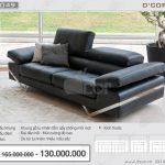 Hiện đại sang chảnh bậc nhất là sofa da nhập khẩu Alpa Salotti – Desire – Italia DV1049