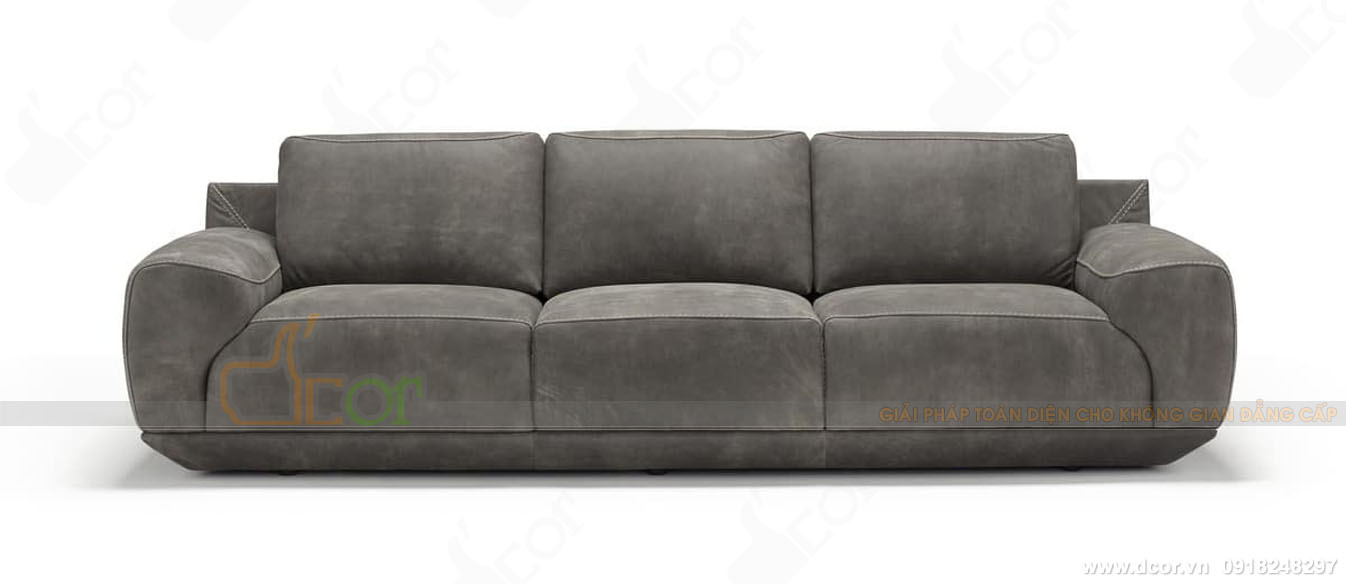 Vietnamarch cháy hàng với mẫu sofa da nhập khẩu DV1051- Saporini - King - Italia