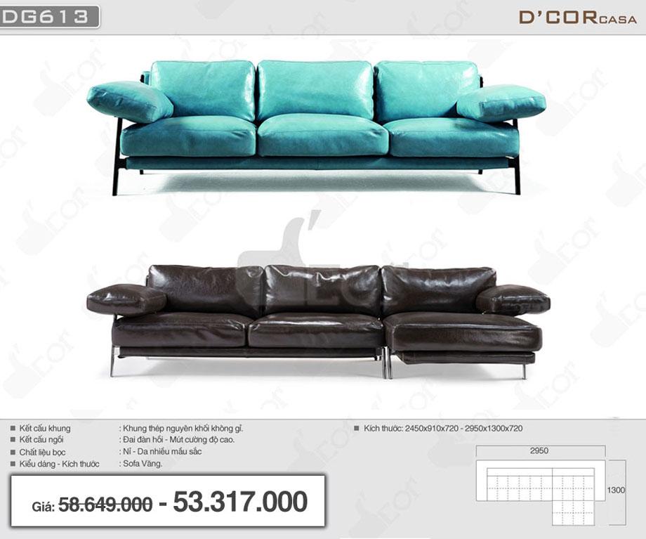 Tươi tắn với mẫu sofa văng nỉ- da cao cấp chất lượng vượt trội cho phòng khách sang trọng
