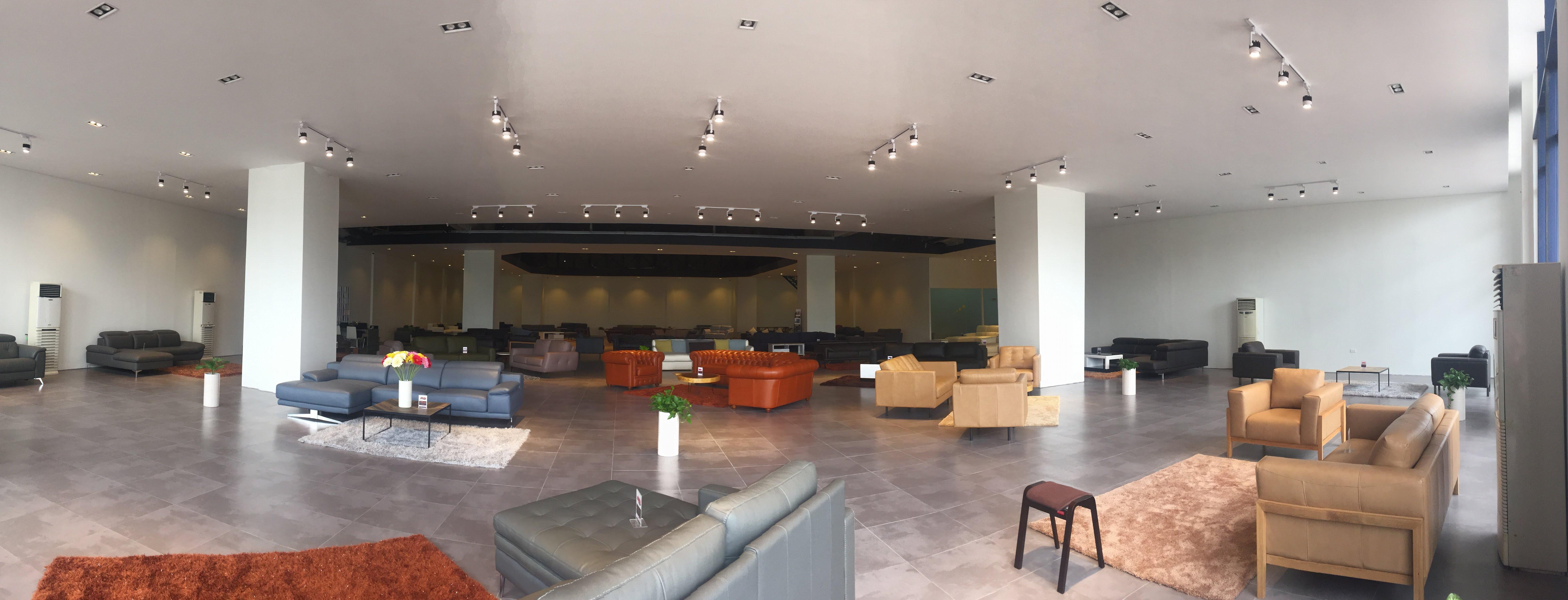 Hoàn thiện theo đúng bản vẽ thiết kế nội thất showroom của Vietnamarch