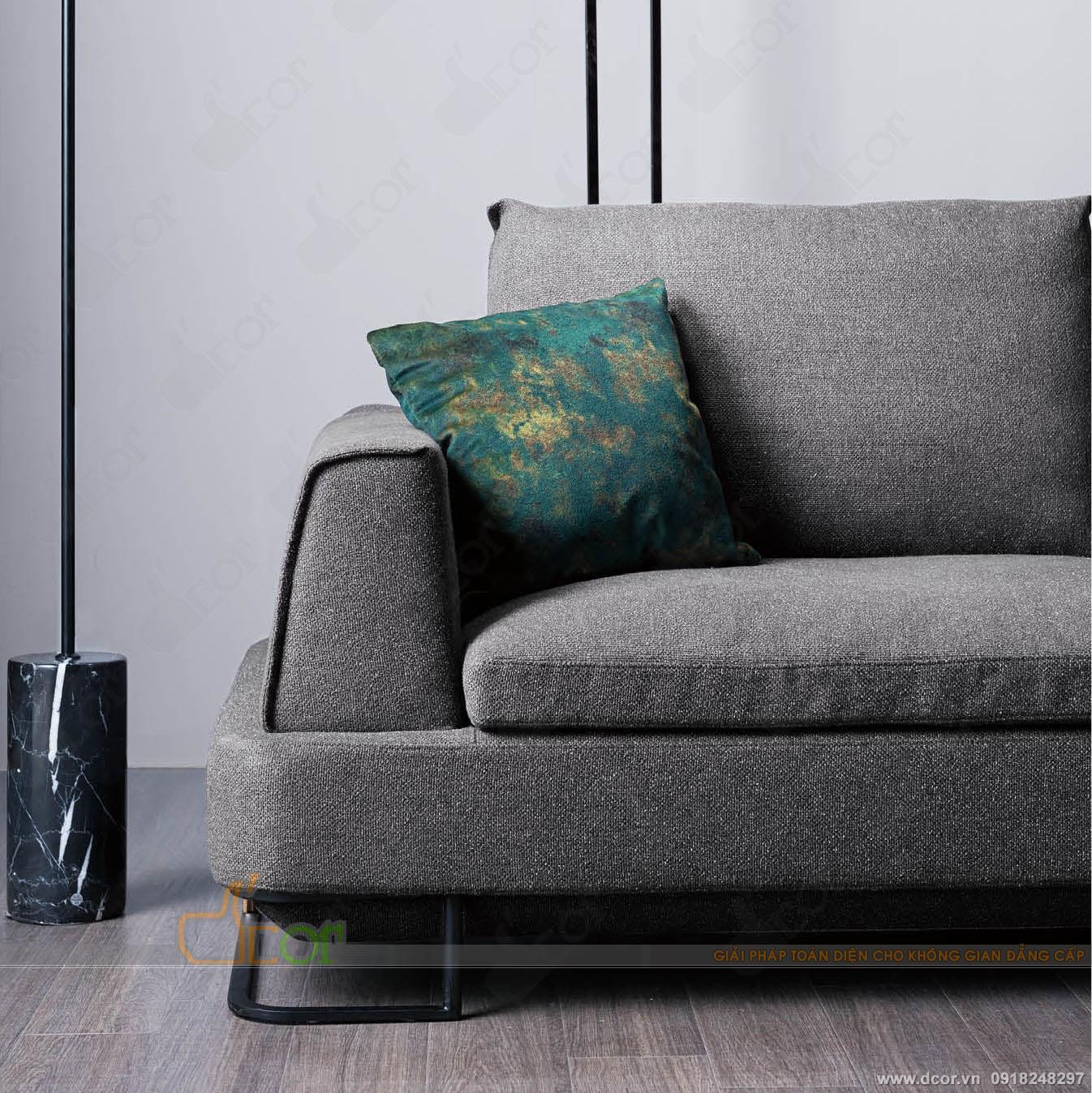 Ghế sofa phòng khách cao cấp cực đẹp, sẵn hàng: NG623