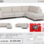 Hạ gục ánh nhìn với sofa nhập khẩu Malaysia cao cấp NG819 cho phòng khách sang trọng