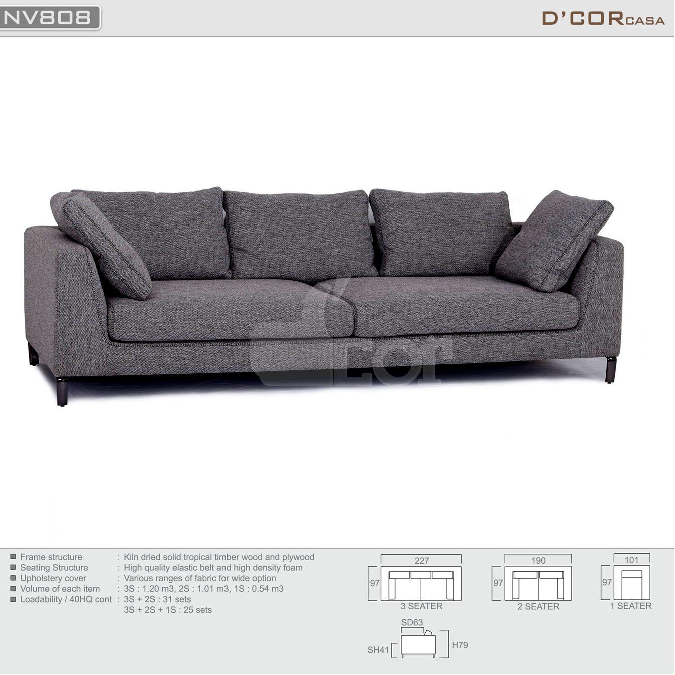 Mẫu sofa văng nỉ đẹp hiện đại  giá rẻ thịnh hành nhất năm 2018
