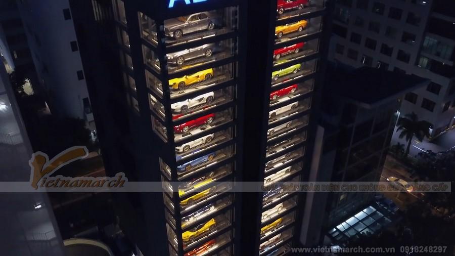 Hệ thống bãi đỗ xếp hình tháp sang trọng