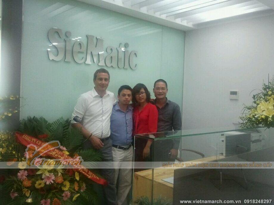 Hoàn thiện nội thất Showroom SieMatic
