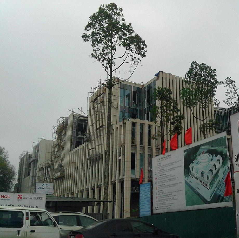Thiết kế văn phòng quốc hội
