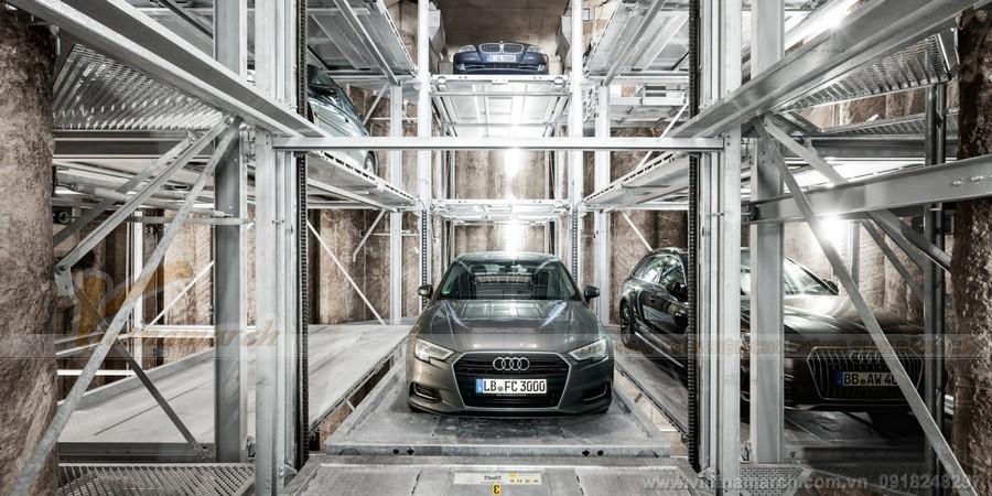 Bãi đỗ xe tự động – điều kiện cần có cho mô hình chia sẻ chỗ đậu xe