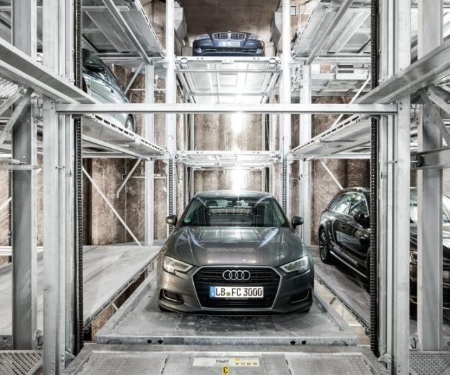 bãi đỗ xe thông minh