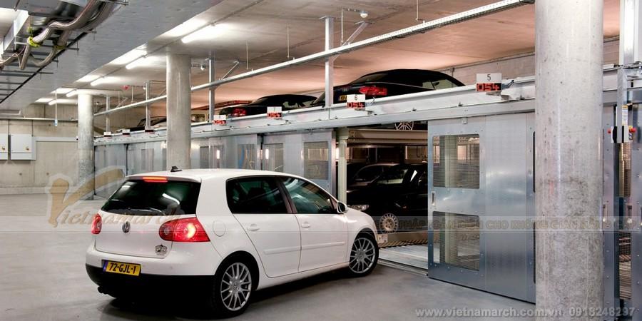 Bãi đỗ xe tự động là điều kiện quan trọng cho mô hình kinh doanh chia sẻ bãi đậu xe