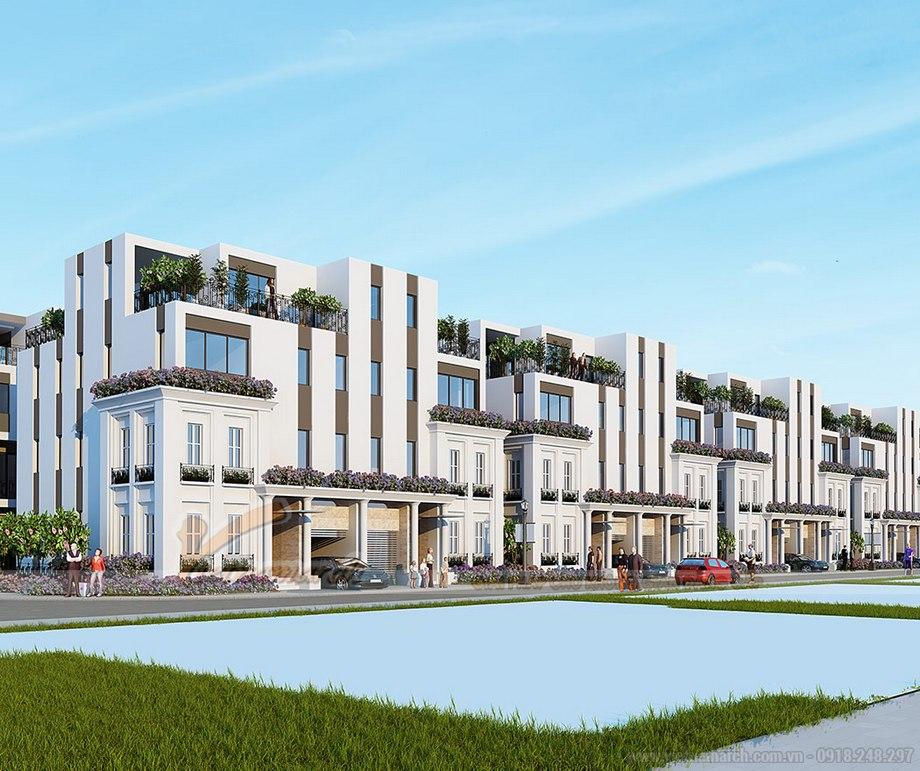 Khu biệt thự song lập sang trọng như một thành phố thu nhỏ tại The Manor Central Park Nguyễn Xiển