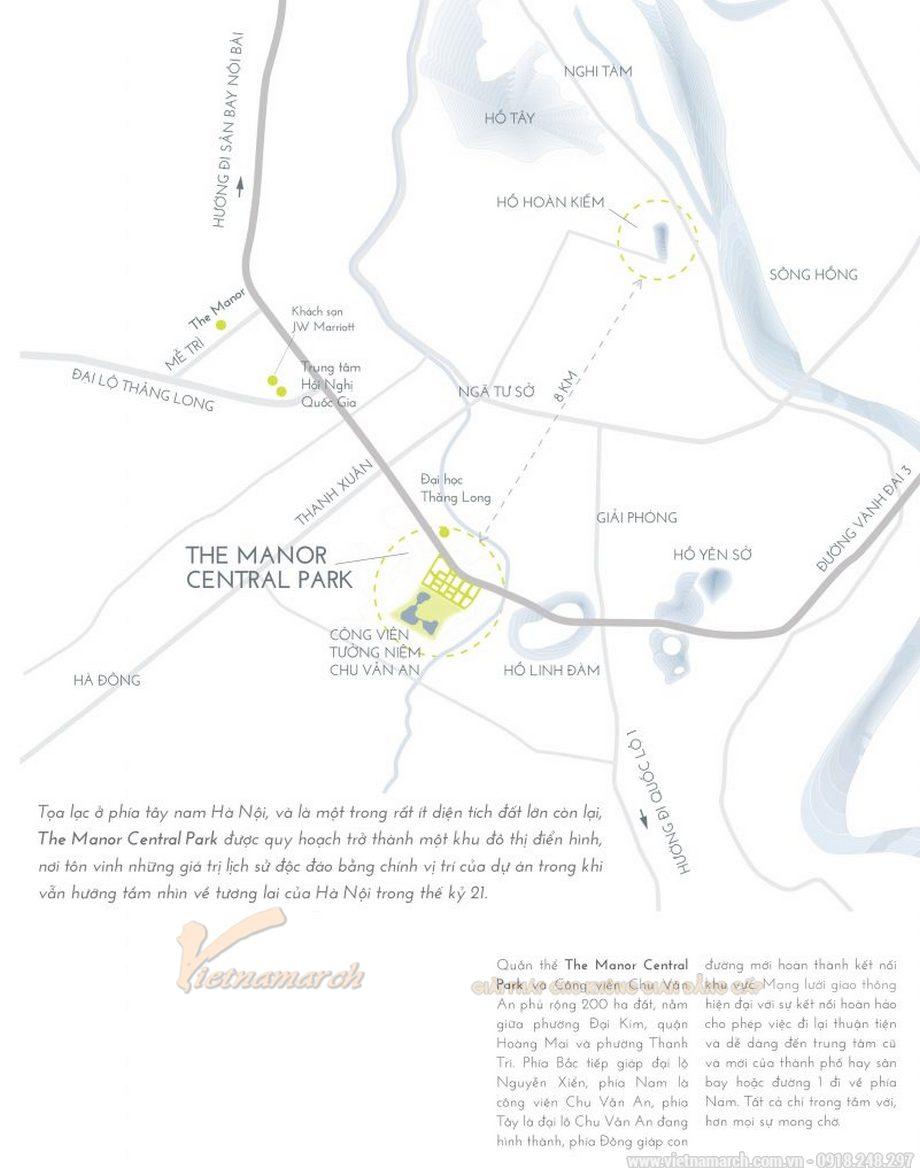 Biệt thự – hạng mục đẳng cấp nhất tại The Manor Central Park