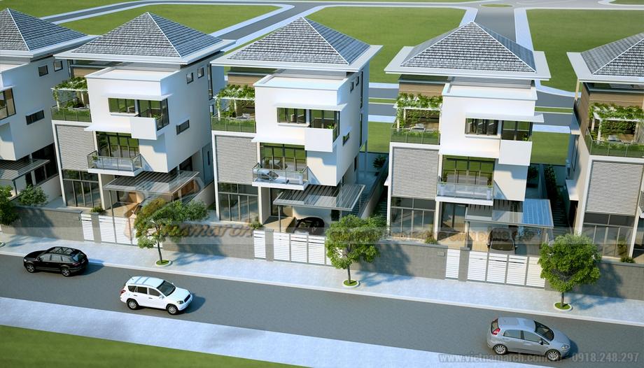 Thiết kế biệt thự đơn lập The Manor Central Park Nguyễn Xiển
