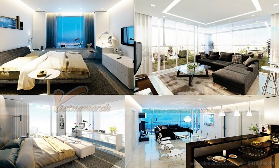 Đẳng cấp với thiết kế nội thất dành riêng cho Nhà Liền Kề The Manor Central Park Bạch Kim