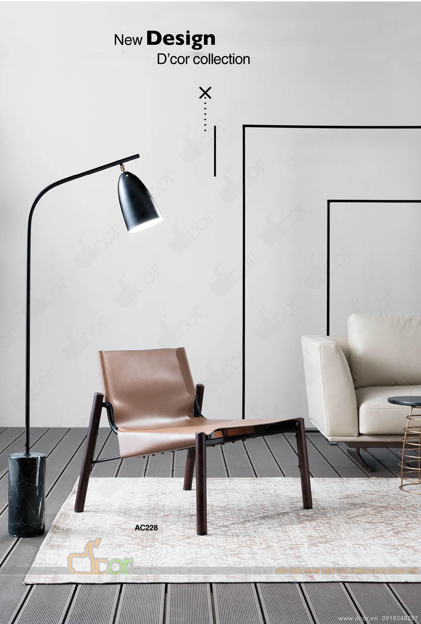 Ghế da cao cao cấp tiện ích cho phòng khách hiện đại
