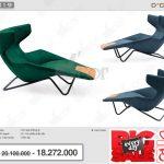 Ghế nỉ- da nhiều màu sắc giúp thư giãn tối đa: AC219