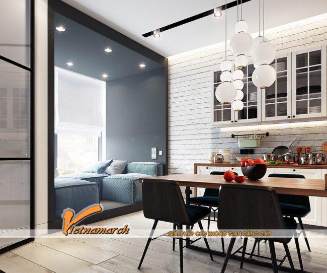 Tư vấn thiết kế căn hộ nhỏ xinh cho vợ chồng trẻ