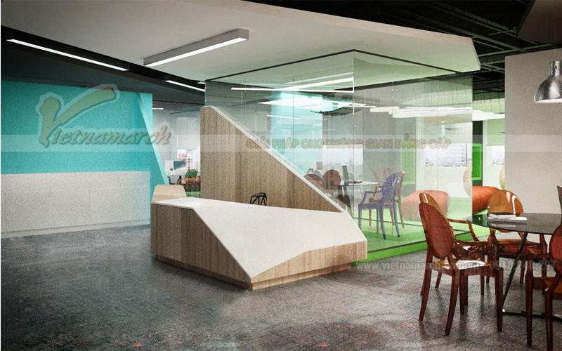Hình ảnh thiết kế và thi công nội thất văn phòng