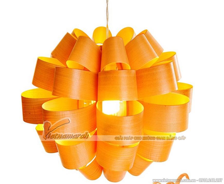 Mẫu đèn thả thiết kế độc đáo, ấn tượng cho nội thất phòng bếp