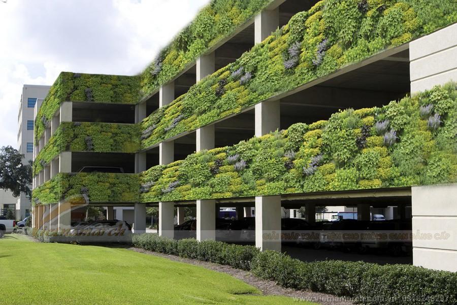 Bãi xe thông minh là giải pháp tiết kiệm tài nguyên môi trường