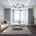 Phương án thiết kế nội thất căn hộ 90m2 tòa B chung cư Thống Nhất Complex Nguyễn Tuân