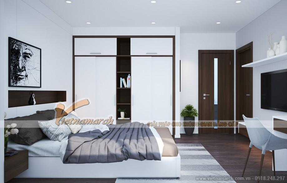 Phòng ngủ Master thiết kế với phong cách hiện đại