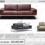 Sofa văng da thật nhập khẩu độc đáo: DV1012 Saporini (Rossini) – Chic – Italia