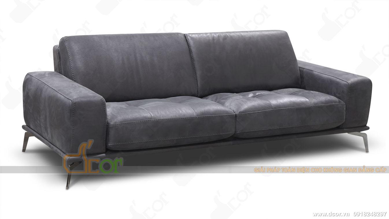 Sofa da nhập khẩu cao cấp :DV1008 Brera - Italia