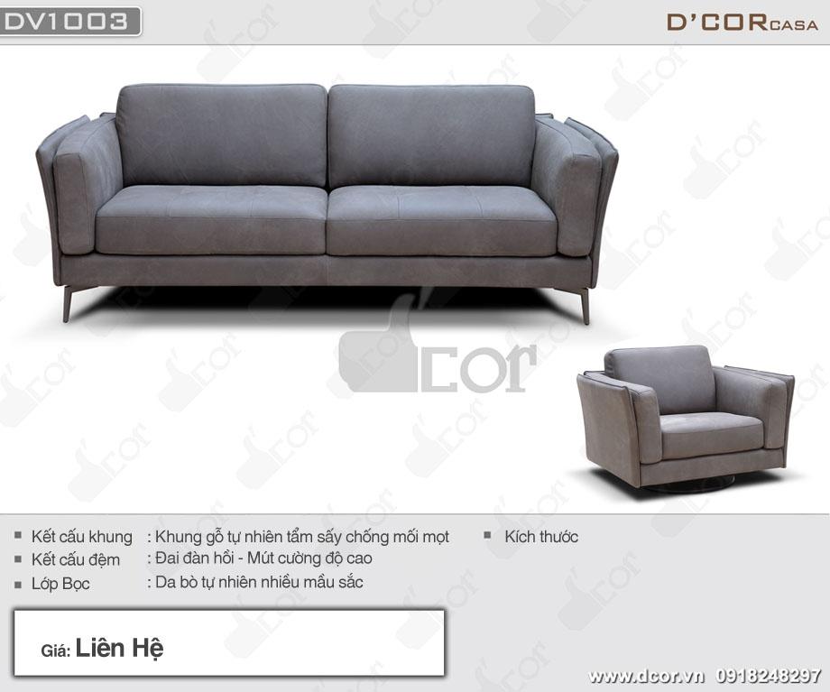 Siêu phẩm sofa nhập khẩu DG1003- Adige - Italia - Vẻ đẹp vạn người mê
