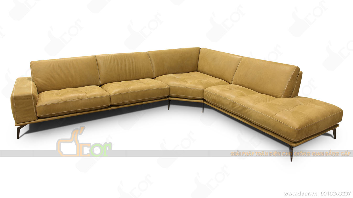 Mẫu sofa nhập khẩu cao cấp Brera Sectional - Italia cho phòng khách tươi tắn hiện đại