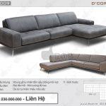 Mẫu sofa nhập khẩu cao cấp Brera Sectional – Italia cho phòng khách tươi tắn hiện đại