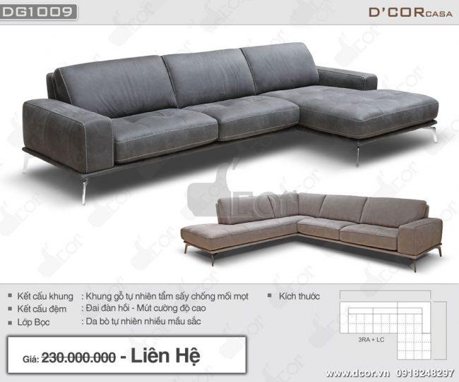 sofa da that nhap khau cao cap Italia