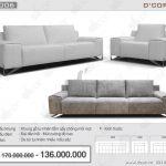 Sofa văng da thật nhập khẩu DV1006-Saporini (Rossini) – Boheme – Italia đẹp đến từng centimet
