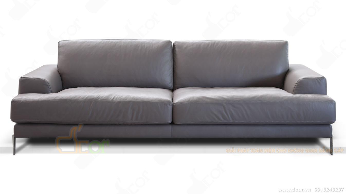 sofa văng da thật DV1011 Saporini - Capri