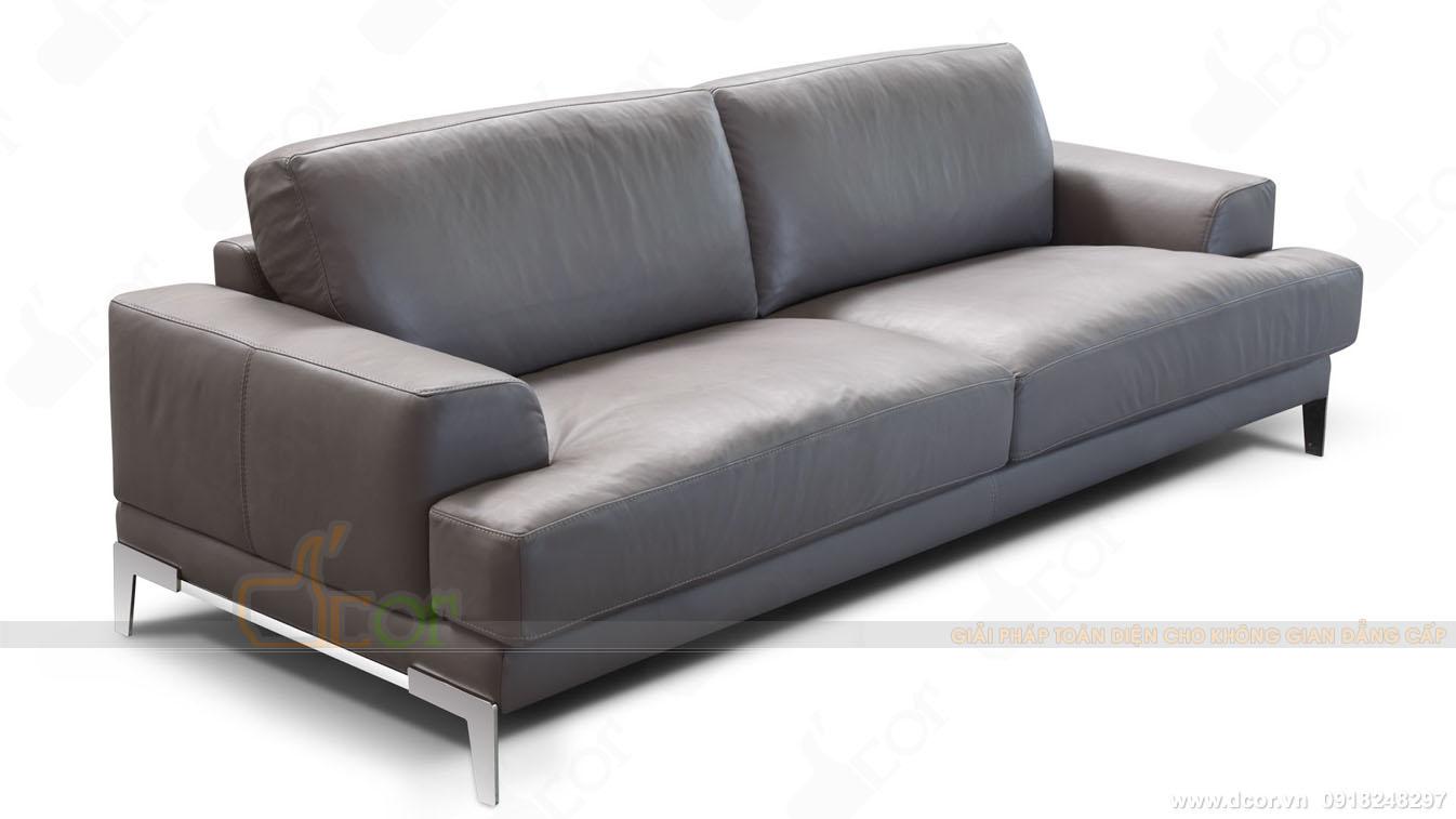 Thông số sản phẩm sofa văng da thật nhập khẩu Italia DV1011 Saporini - Capri