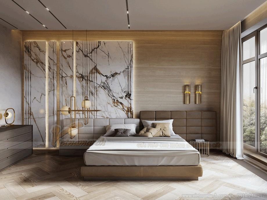 Phòng ngủ ấm cúng  ngập tràn ánh nắng tran hòa