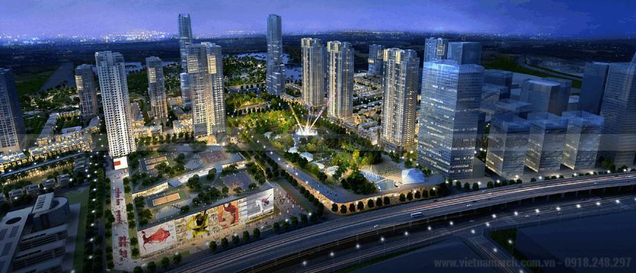 Chung cư cao cấp The Manor Central Park đem tới một tiêu chuẩn mới cho chung cư ở Hà Nội