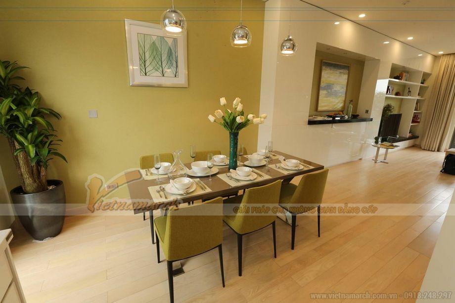Thiết kế nội thất dành riêng cho nhà phố thương mại The Manor Central Park Bạch Kim