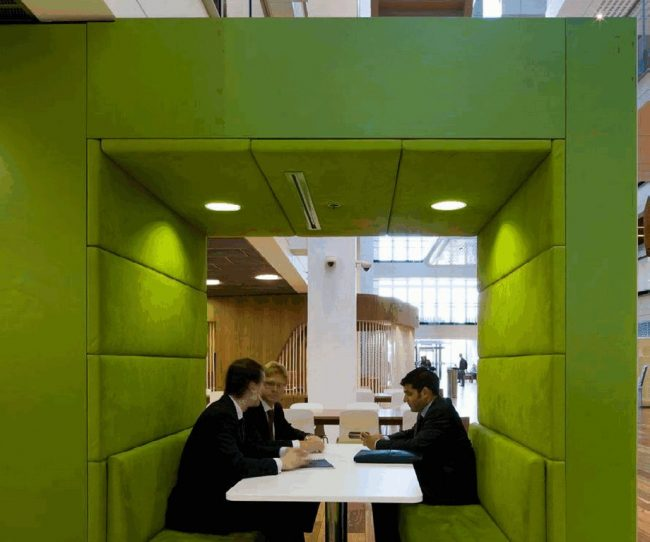 Một số mẫu thiết kế nội thất văn phòng độc đáo